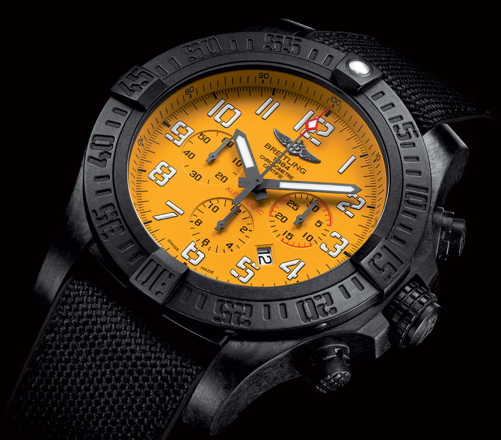Breitling Avenger Hurricane 12H Watch Watch Releases