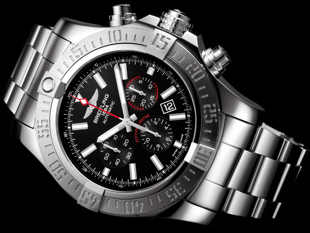 Breitling Super Avenger 01 Boutique Edition Watch Watch Releases
