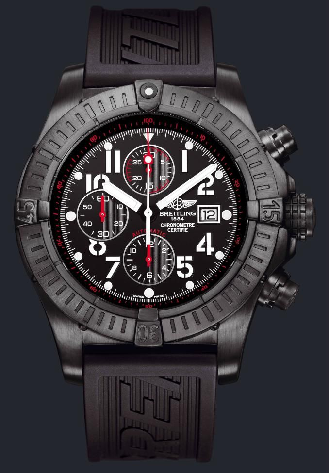 Essence Of Guy Watch In The New Breitling Super Avenger