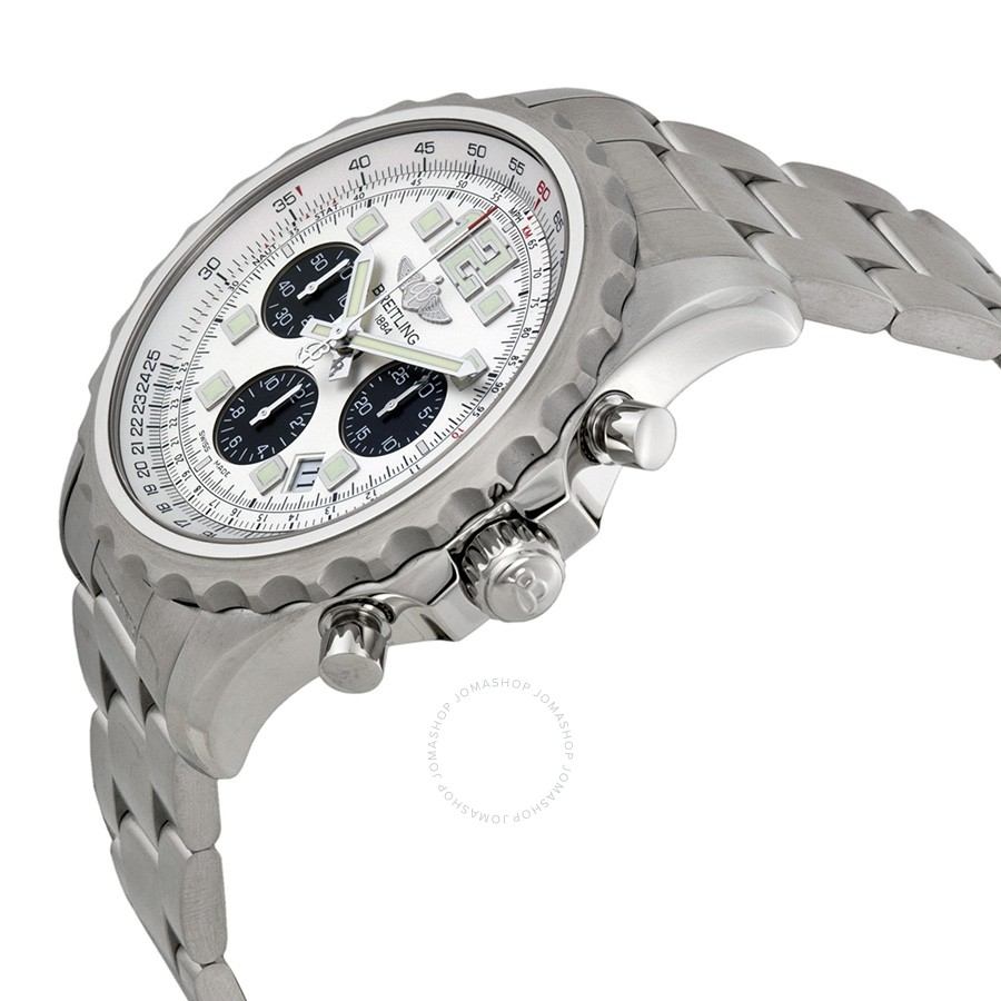 Breitling Chronospace Automatic Silver Dial Men's Watch A2336035-G718SS