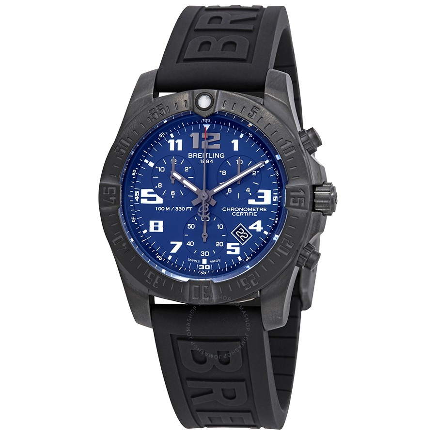 Breitling Chronospace Night Mission Chronograph Blue Dial Men's Watch V7333010/C939BKPD3