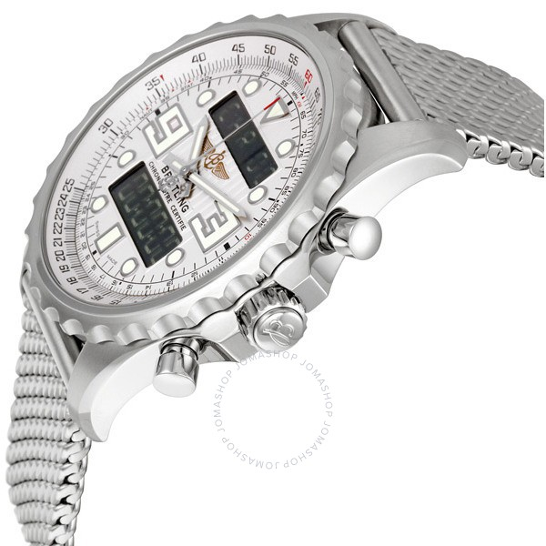 Breitling Chronospace Stainless Steel Men's Watch A7836534-G705SS