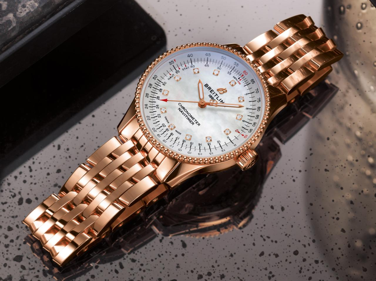 Breitling Debuts Navitimer Automatic 35 Watch Collection For Women replica Watch Releases