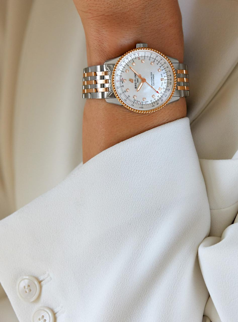 Breitling Debuts Navitimer Automatic 35 Watch Collection For Women Watch cheap Releases