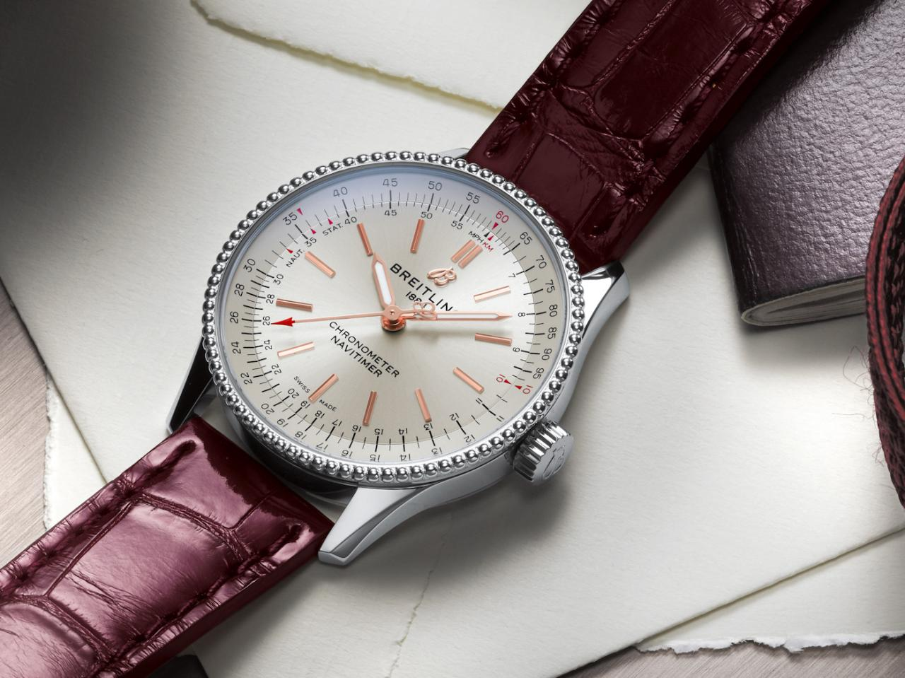 Breitling Debuts Navitimer Automatic 35 Watch Collection For Women fake Watch Releases