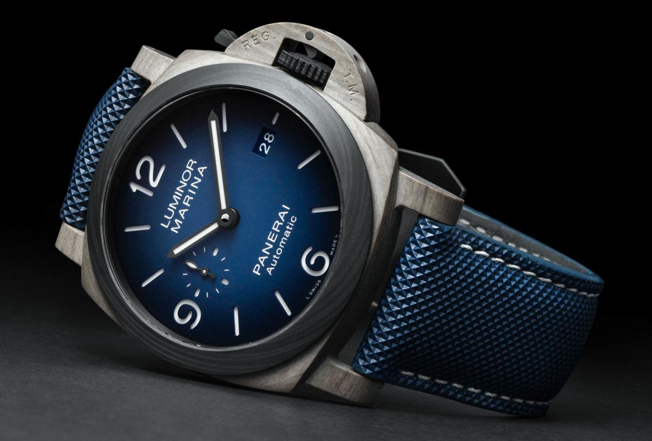 Panerai Luminor Marina Fibratech 44 PAM01663 Debuts New Fiber Material the Replica watches